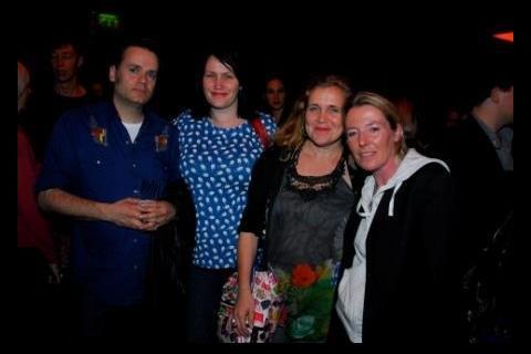 Joern Utkilen (Writer/Director), Carolynne Sinclair Kidd (Features Scotland Producer), Wendy Griffin (Features Scotland Producer), Caroline Paterson (Director/Actor)